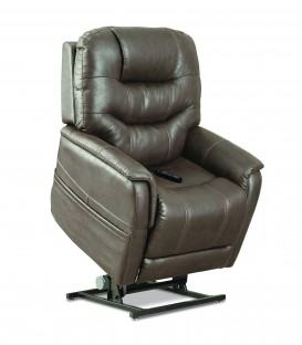 Pride VivaLift! Elegance Reclining Lift Chair - PLR975 Mushroom