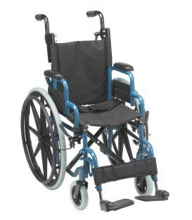 Wallaby Pediatric Wheelchair Blue