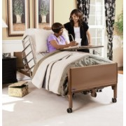 Invacare 5410LOW Height Adjustable, Low Full Electric Homecare Bed
