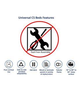 Universal CS Beds Features