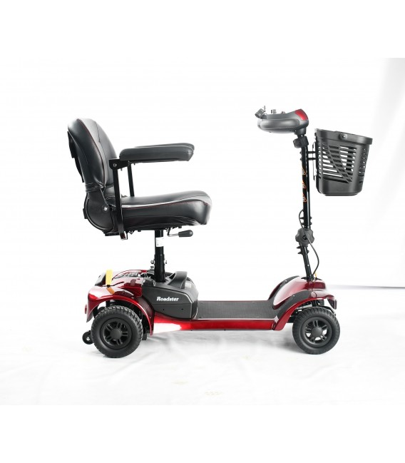 Merits S740 Roadster 4-Wheel Scooter Red