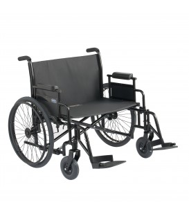 Invacare 9000 Topaz Heavy Duty Bariatric Wheelchair 700 lb Capacity