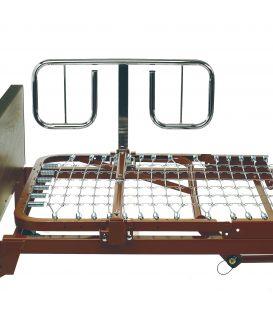 BAR600IVC Bariatric Half-Length Bed Rails