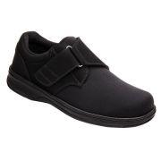 OrthoFeet Men's Bismarck Diabetic Shoes - Black