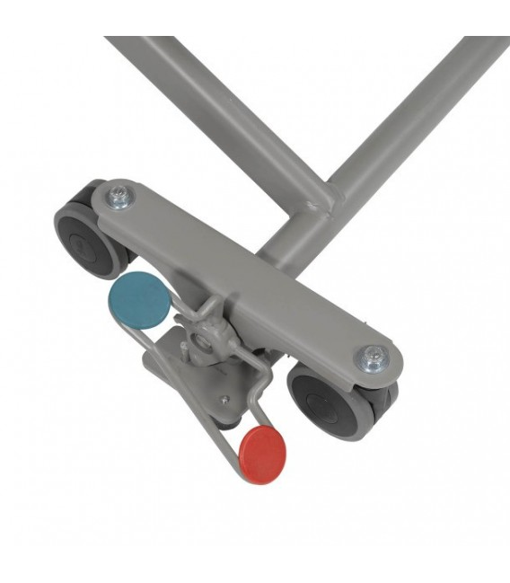 Two-Way Red/Green Color Coded Floor Lock System