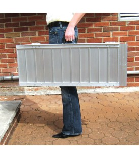 Single Fold Portable Ramp w/Handle & Bag - Drive
