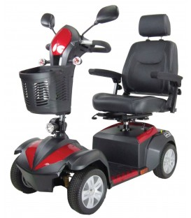 Drive Ventura DLX Deluxe 4-Wheel Scooter - Ventura418CS