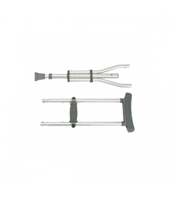 Knock Down Universal Aluminum Crutches - Drive