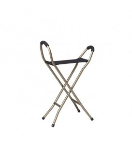 Folding Lightweight Cane with Sling Style Seat - RTL10360 Drive