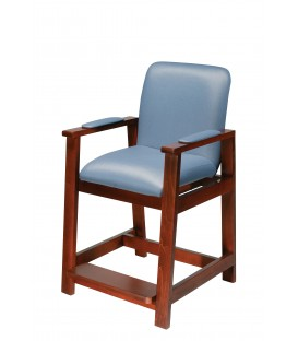 Wood High Hip Chair