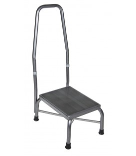Drive Foot Stool with Handrail and Non Skid Rubber Platform