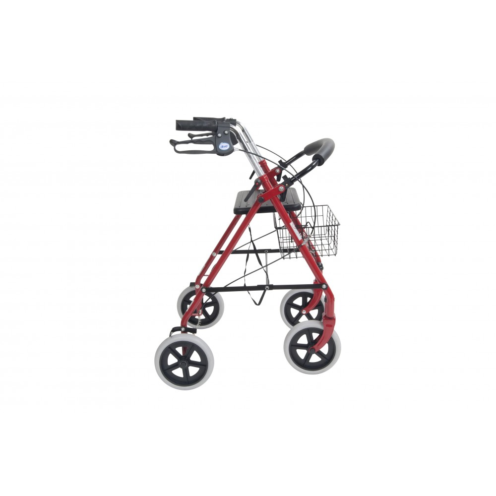 Drive Durable 4 Wheel Rollator With 7 5 Quot Casters