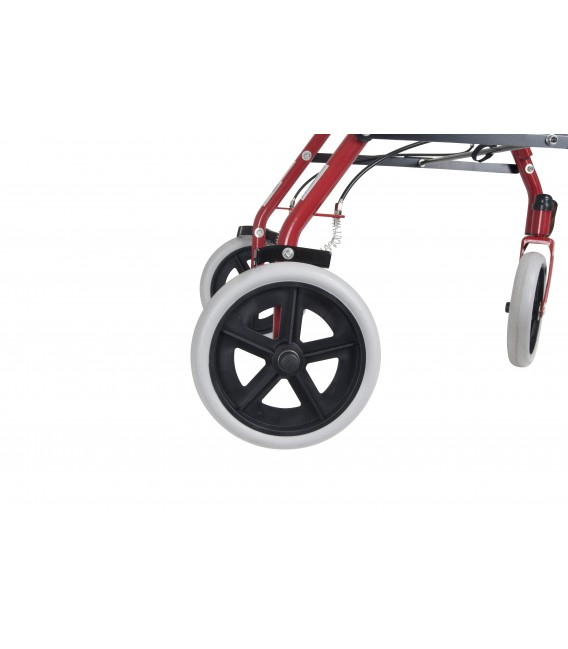 """Drive Durable 4 Wheel Rollator with 7.5"""" Casters"""