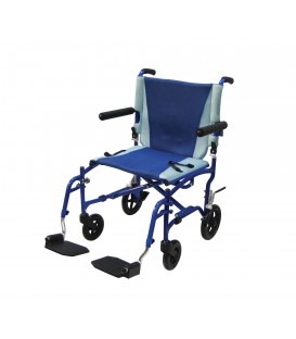 TranSport Aluminum Transport Wheelchair TS19 by Drive