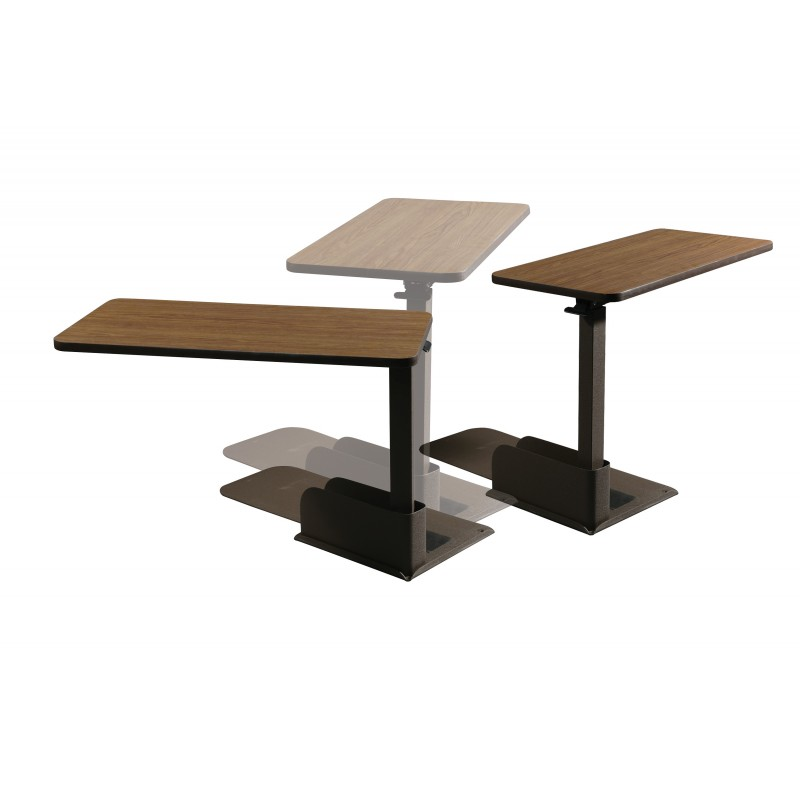 seat lift chair overbed table left side