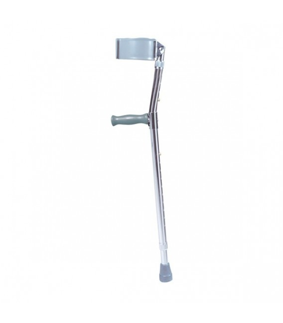 Tall Adult Steel Forearm Crutches