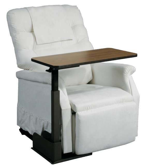 Seat Lift Chair Overbed Table - Right Side 13085RN Drive