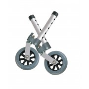 "Swivel Wheel 5"" with Lock & Two Sets of Rear Glides"