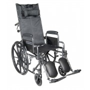 """Silver Sport 16""""-20"""" Full-Reclining Wheelchairs by Drive"""