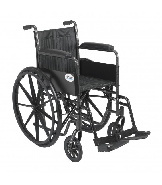 Drive Silver Sport 2 18 Quot Wheelchair