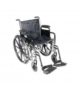 "Drive Silver Sport 2 Manual 20"" Wheelchair"