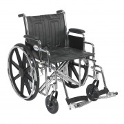 "Bariatric Sentra EC HD 20"" - 24"" Wheelchairs by Drive"
