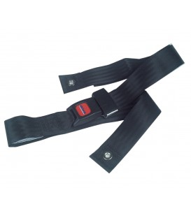 "Bariatric Auto Clasp Seat Belt STDS855 60"" for Wheelchairs Drive"