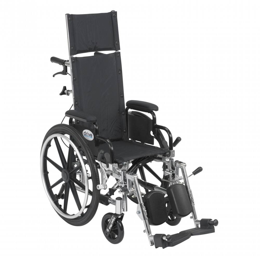 Viper Plus Light Weight Reclining Wheelchair With