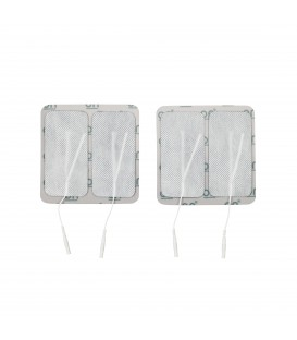 Rectangular Adhesive Pre-Gelled Electrodes for TENS Unit (4)