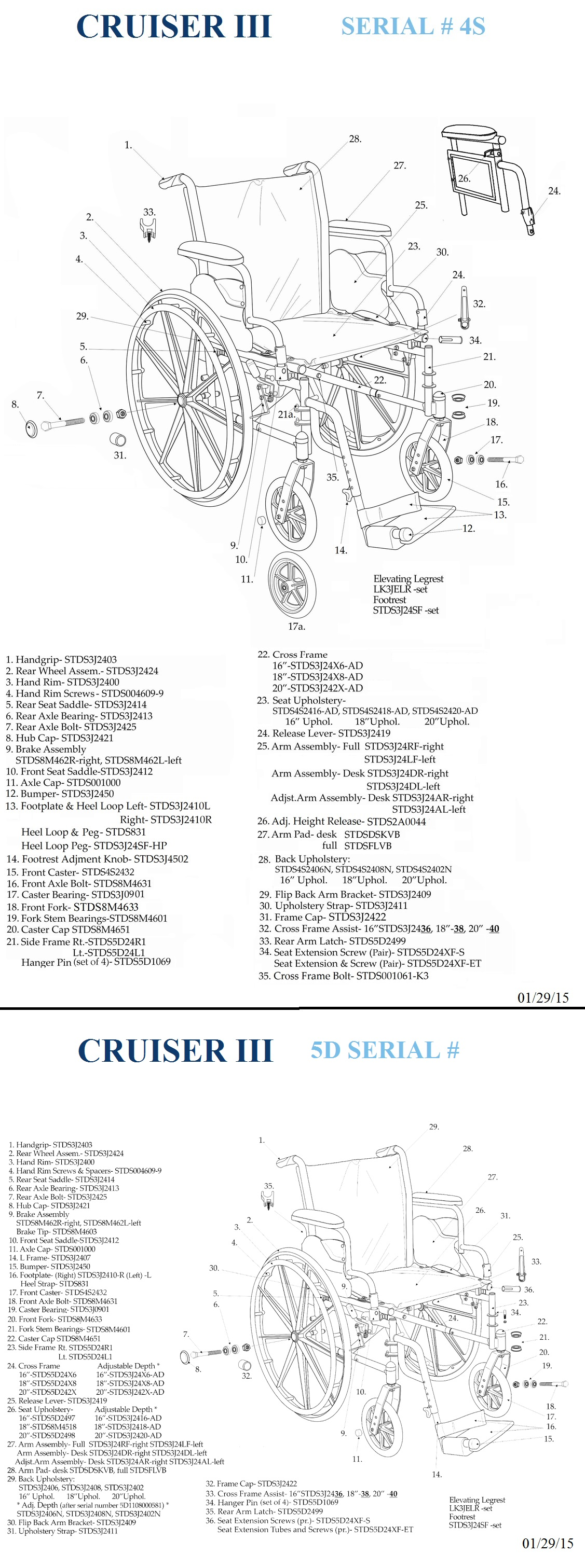 Cruiser Iii Light Weight Wheelchair Drive With Various Arm