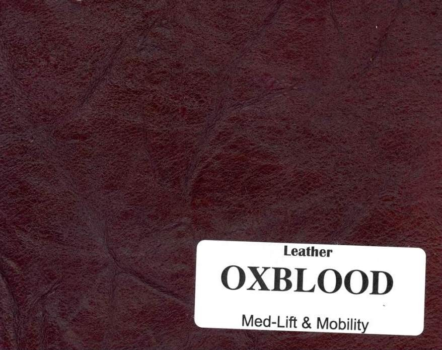Full Leather: Oxblood