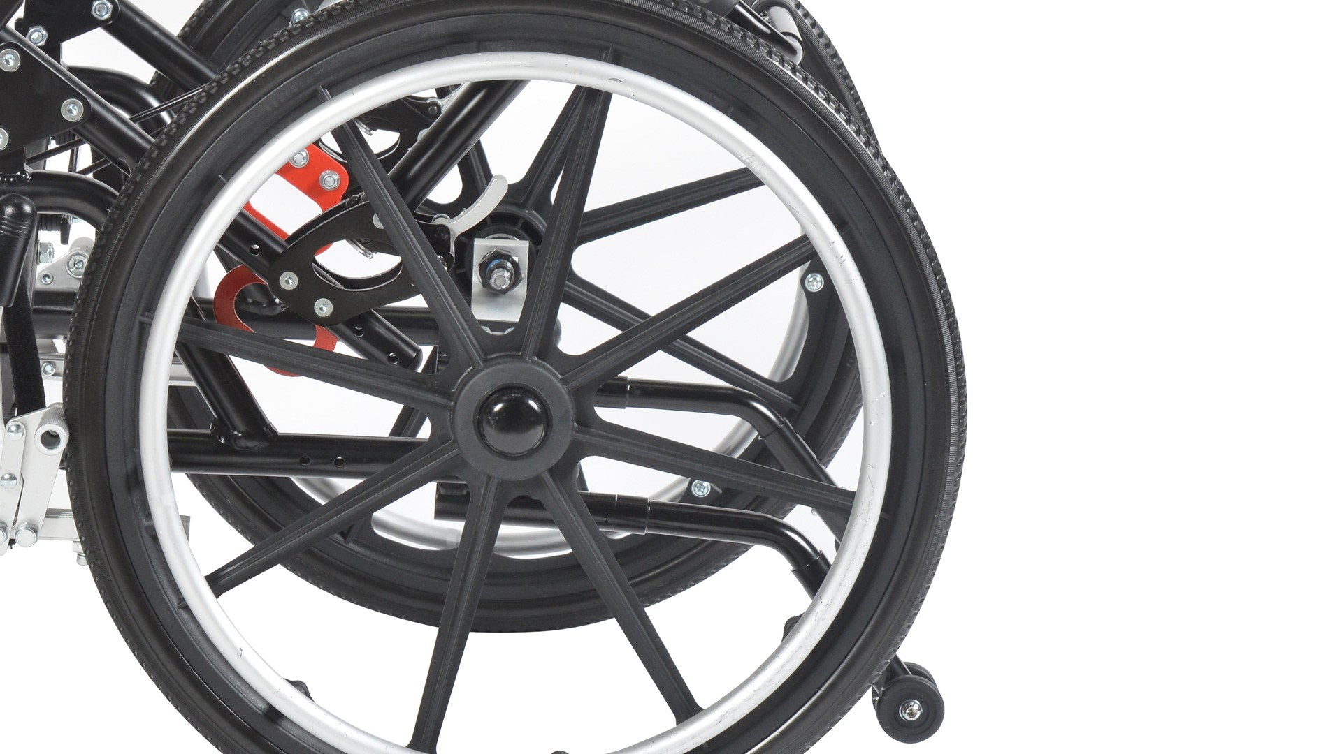 """12"""" Rear Wheel Assembly"""