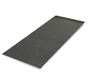Non-Slip Surface for Footrests