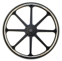 "24""x1"" MAG 8 Spoke Flat Free (Quick Release)"