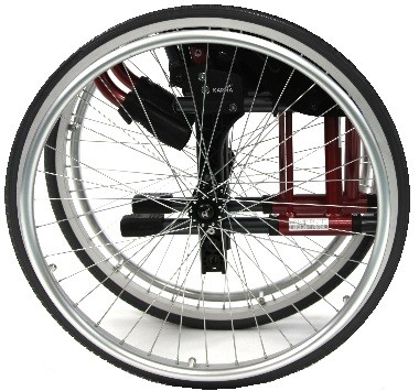 "24""x1"" Pneumatic Magnesium Wheel"