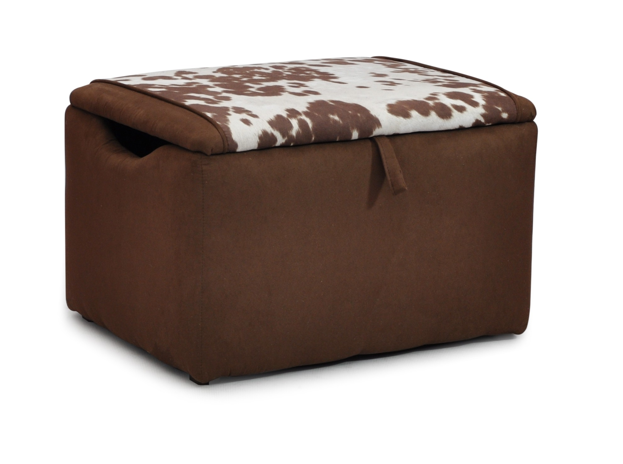 Mixy Longhorn Brown Chocolate Suede Box