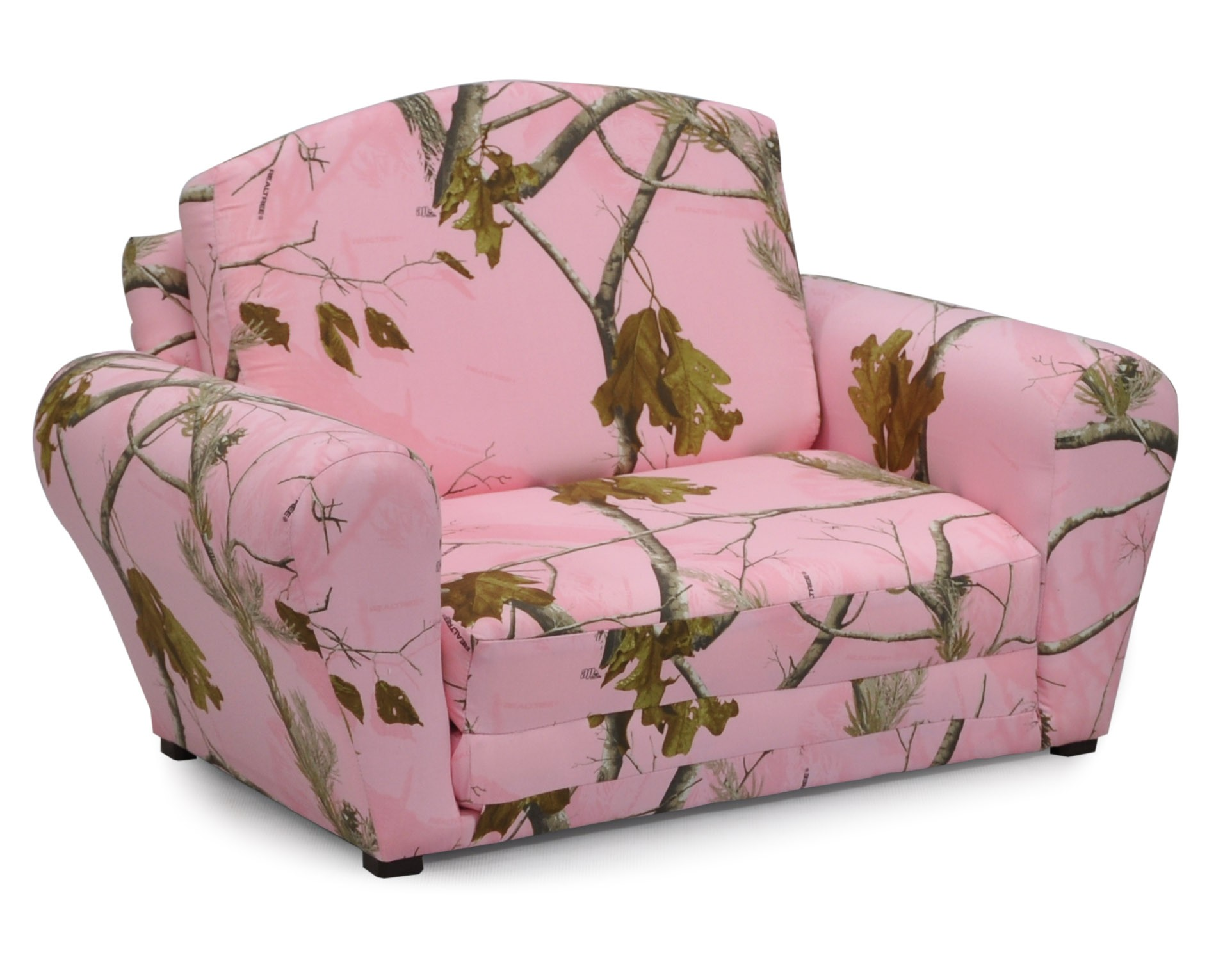 "Real Tree ""Pink"" Camouflage Sleepover Sofa"
