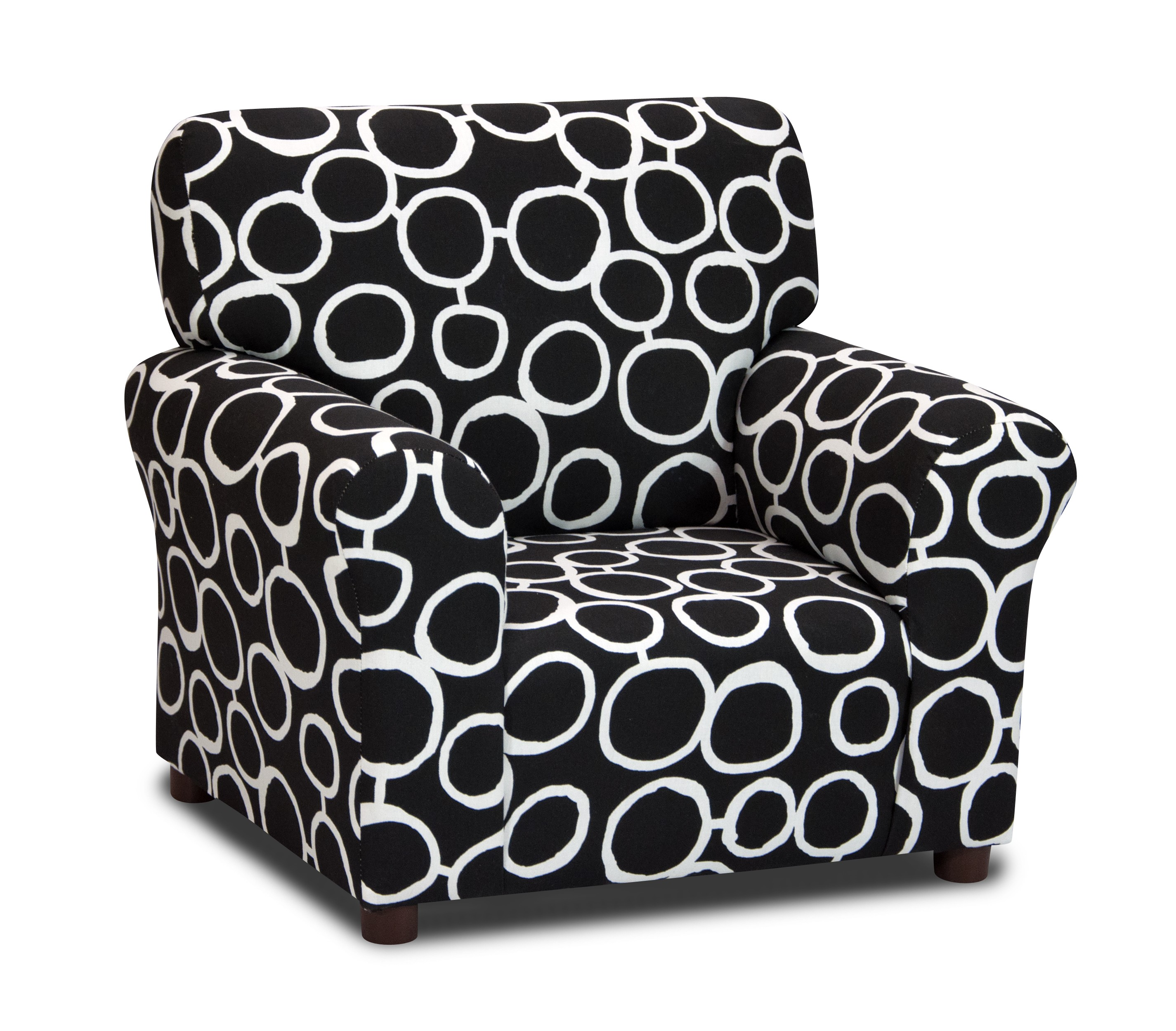Freehand - Black/White Club Chair