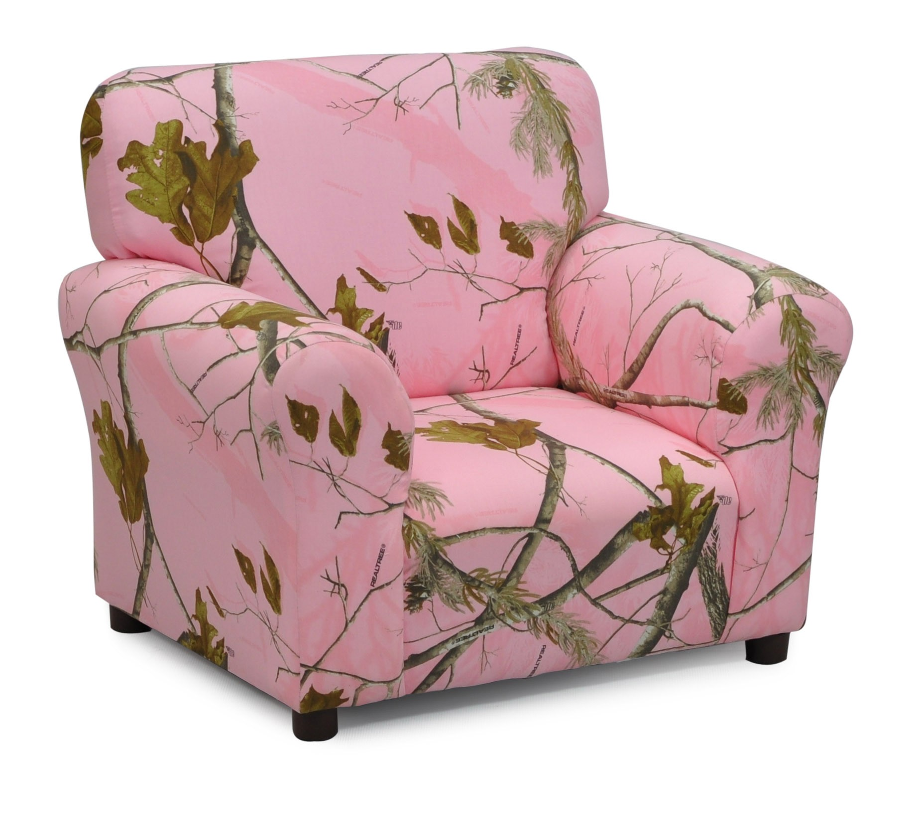 "Real Tree ""Pink"" Camouflage Club Chair"